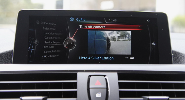 Video: BMW M Laptimer Is Now Available with GoPro Camera Integration