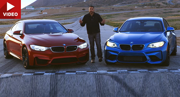 Video: Which One Would You Bet Your Money On? BMW M2 or BMW M4?