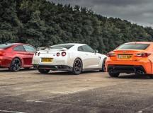 Video: Drag Race: Who Won: BMW M4 vs. Lexus RC-F vs Nissan GT-R?