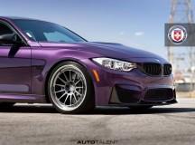 Daytona Violet F80 BMW M3 with M Performance by Auto Talent