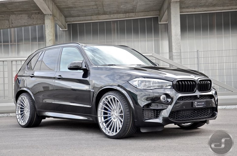 BMW X5M with Hamann Power Kit, Installation by DS Automobile
