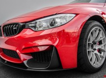Hellrot Metallic BMW M3 Gets Hammered by EAS