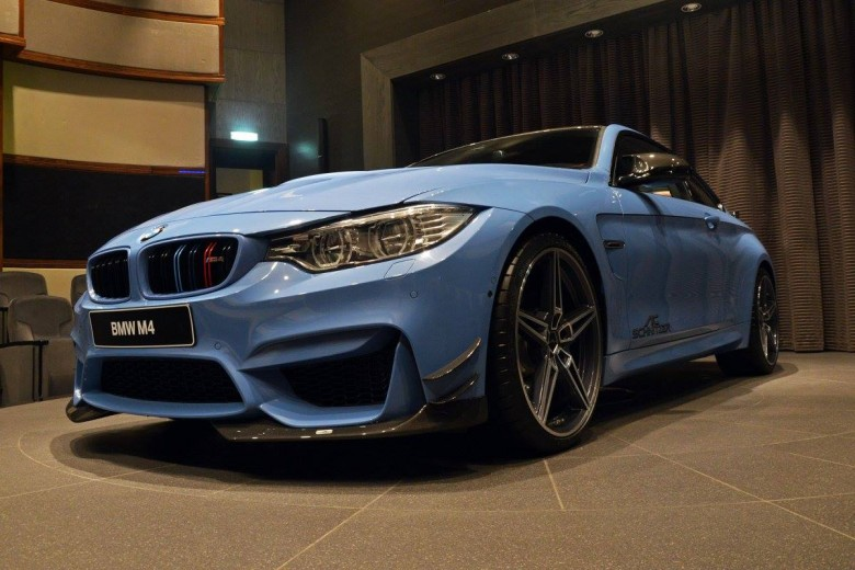 Yas Marina F82 BMW M4 Power Upgrades by AC Schnitzer