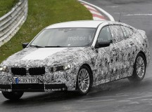 2017 BMW 5-Series GT Scooped on the Nurburgring