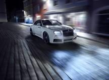 Rolls-Royce Wraith Looks Muscular in the SPOFEC`s Aero Kit