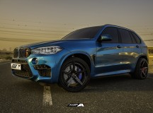 All-New BMW X5M Sits on AMP Forged Wheels