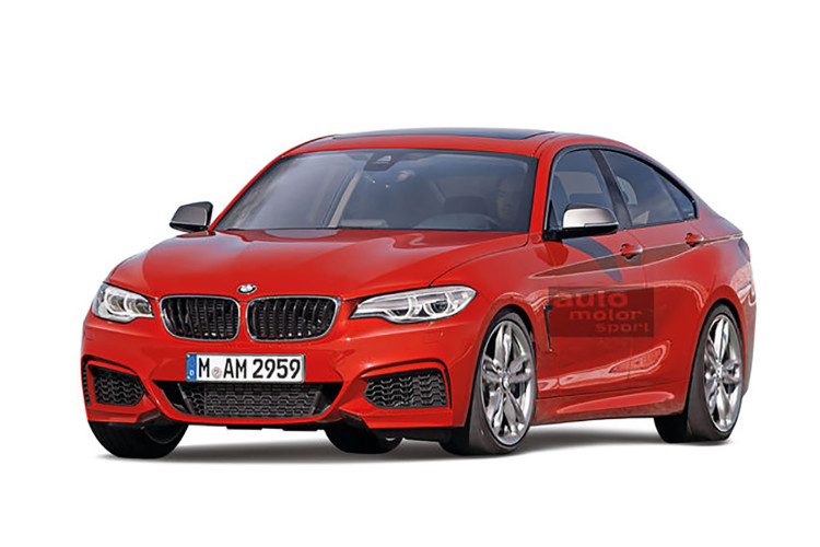 Spy Video 2018 BMW 2 Series Gran Coupe Runs Heavy Tests At The Ring