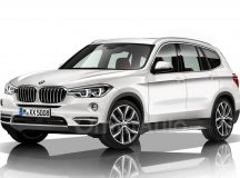 2018 G01 BMW X3 Launched in Rendering