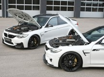 BMW M3 & M4 with Power Kit by G-Power