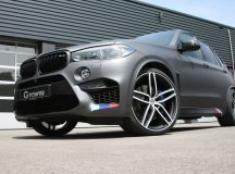 BMW X5M with Stage Kit 3 by G-Power