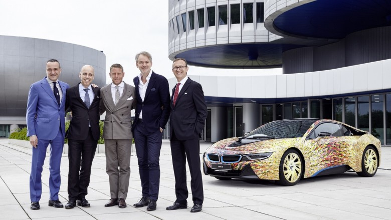 Video: BMW i8 Futurismo Edition by Garage Italia Customs
