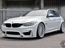 F80 BMW M3 with Power Boost by DS Automobile & Hamann