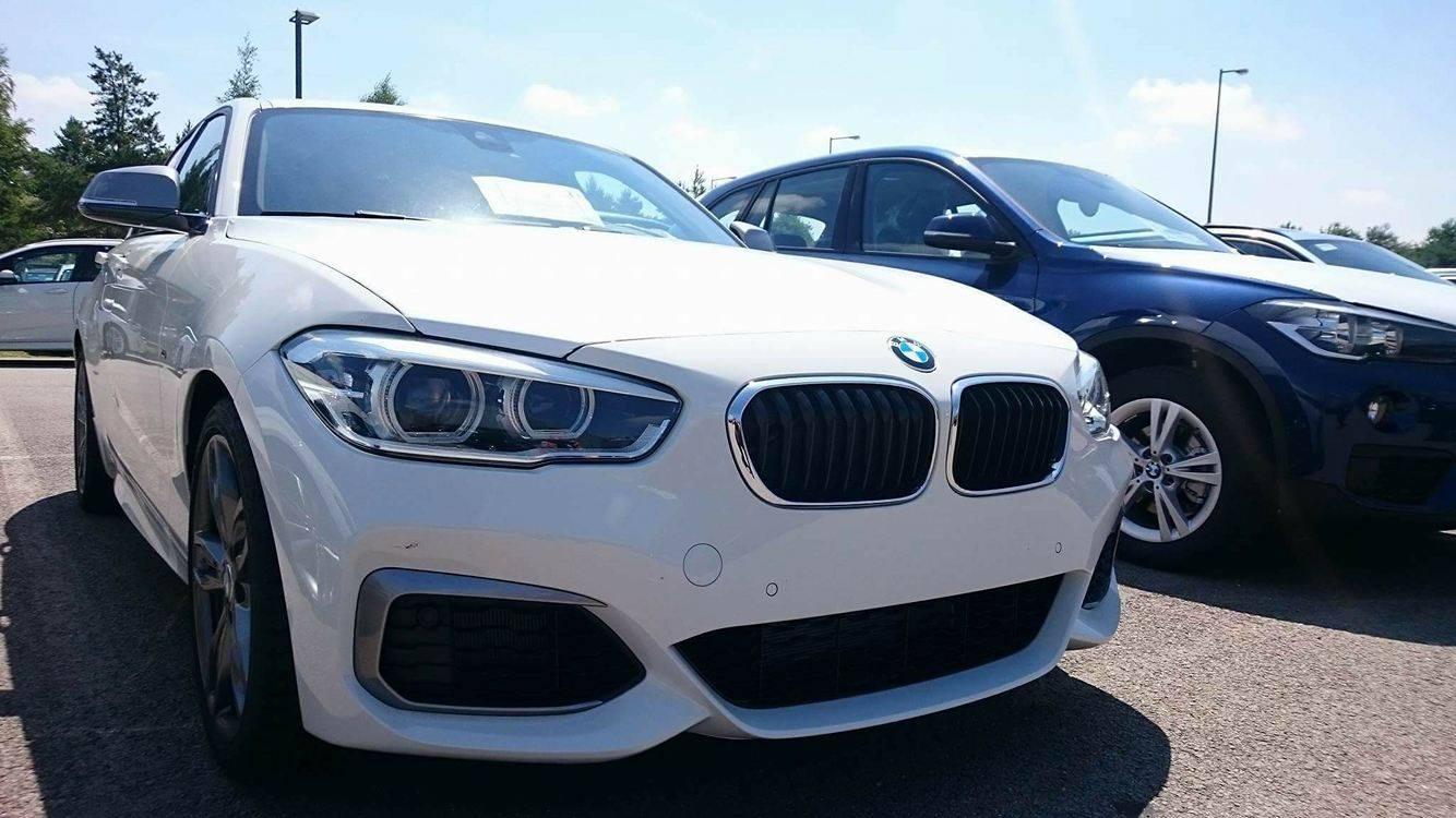 BMW Series Mi Gets Caught Sitting In Car Park BMWCoop - Bmw 100 series