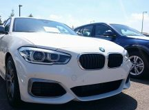 2016 BMW 1-Series M140i Gets Caught Sitting in Car Park