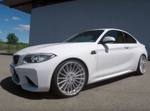 Mute Video: 2016 BMW M2 Coupe Wears Hamann`s Specially Designed Wheels