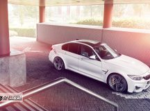 Alpine White BMW M3 with Exquisite Amenities Gets Photo Session