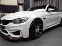 Alpine White BMW M4 GTS Shows-Off at Abu Dhabi Dealer