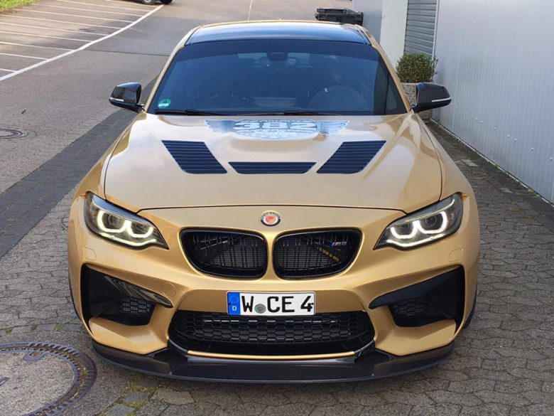 One-off BMW M2 Delivers Whopping Power Courtesy to AC Schnitzer