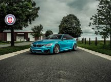 BMW M3 by HRE Performance Gets Impressive Photo Session