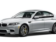 US: Limited BMW M5 Pure Metal Silver Breaks Cover with Massive Power