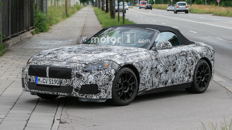 BMW Z5 Caught on Shots, Might Add Hybrid Powertrain to the Lineup