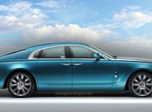 Rolls-Royce Wraith Four-Door Coupe Rendered Online