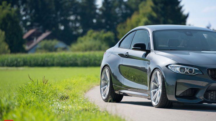2016 BMW M2 Coupe Rides on Vossen Wheels