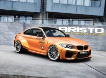 2016 BMW M2 Coupe by Aristo Dynamics Looks Pretty Menacing