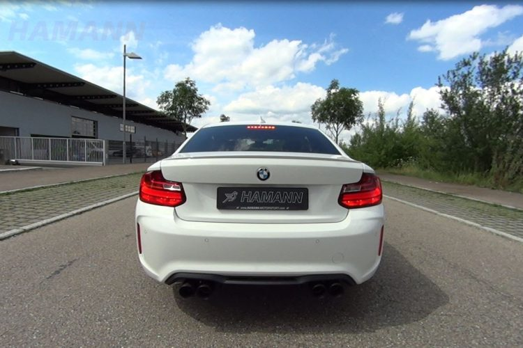 Video: BMW M2 Coupe with Custom Rear Muffler from Hamann