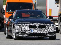 Spy Photos: Camouflaged 2017 BMW 4-Series Coupe Runs Street Tests