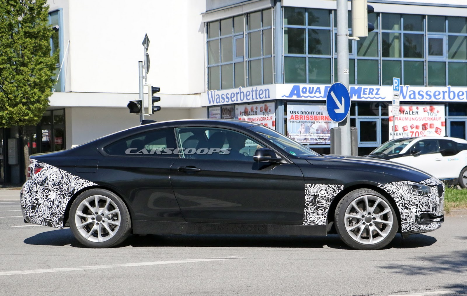 Spy Photos Camouflaged 2017 BMW 4 Series Coupe Runs Street Tests