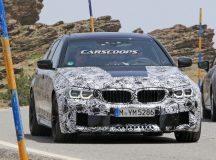 2017 BMW M5 New Spy Photos (1)