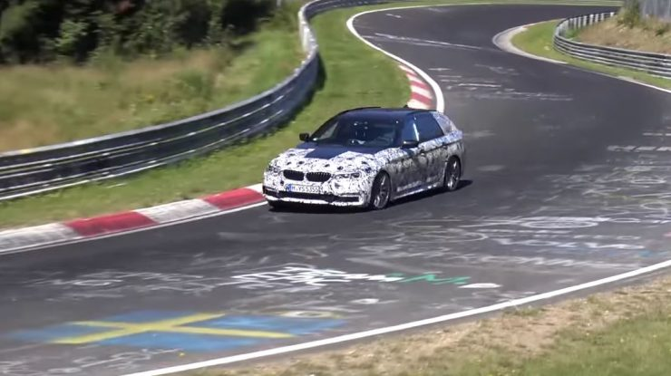 2017 G30 BMW 5-Series Sedan & G31 Touring New Spy Video Emerged