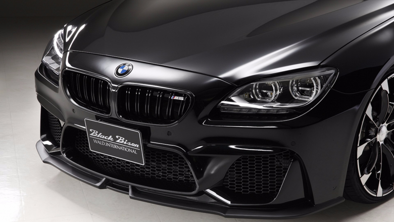 BMW 6 Series Gran Coupe By Wald International Packs The Famous Black Bison Kit