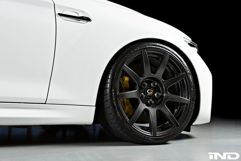 BMW M2 Coupe by iND Packs Carbon Fiber Alloys