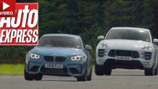 Video: BMW M2 Coupe vs. Porsche Macan Turbo