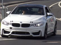 BMW M4 in GT4 Guise Undergoes Heavy Tests at the Ring