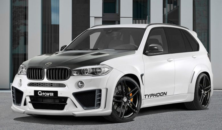 BMW X5M Typhoon by G-Power Is Extremely Powerful