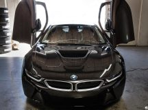 BMW i8 by EAS Looks Smashing with Sophisto Gray Wrap