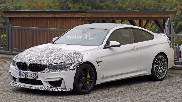 BMW Prepares Facelift Version for M4, Test Mule Caught on Slight Camo