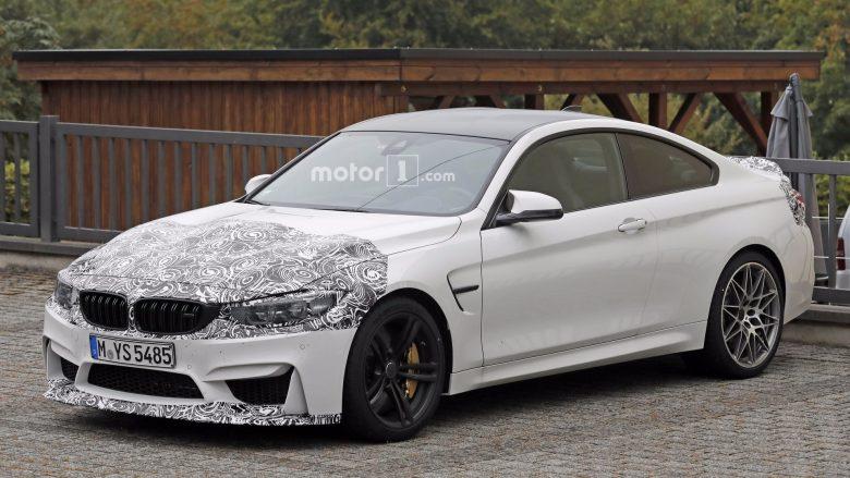 BMW Prepares Facelift Version for M4, Test Mule Caught on Slight Camo