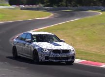 Spy Video: 2018 F90 BMW M5 Undergoes New Tests at the Ring