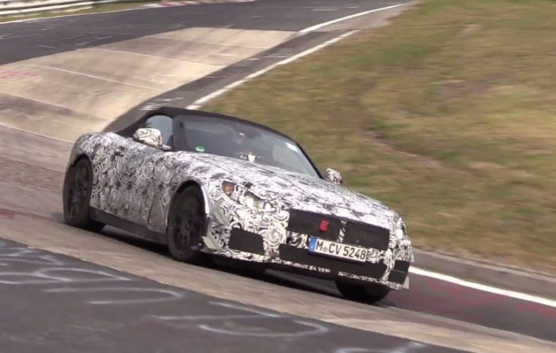 Video: 2018 YM BMW Z5 Gets Some Action at the Ring, Brings Forward Styling Innovations