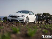 BMW M3 Sits on HRE Wheels