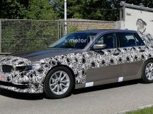 BMW 5-Series Sedan & Touring End-Up in New Spy Photos, Get Closer to Final Products