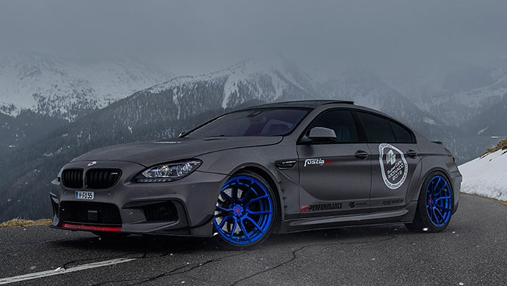 Fostla upgrades bmw 6 series gran coupe with prior design aero kit share the article publicscrutiny Images