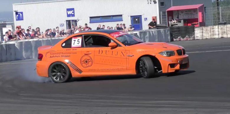 Video Showcases Drifting Skills of Late BMW 1M
