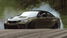 BMW M2 F22 Eurofighter by HGK Motorsport Reveals Sheer Force in Drifting Session