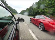 Who`s the Toughest: BMW M4 vs. Lexus RC F in Drag Race