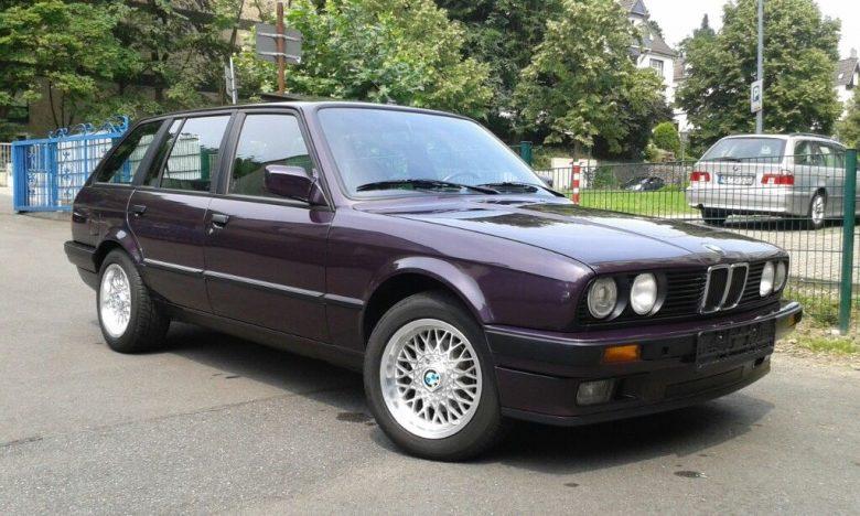 Daytona Violet Design Edition BMW 316i Touring Is Up for Grabs